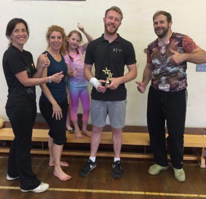 Caroline S - awards our Coaches!